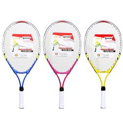 1 Set Durable Colorful Professional Tennis Racket for Childr