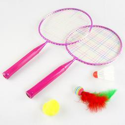 1 set tennis racket badminton parent child