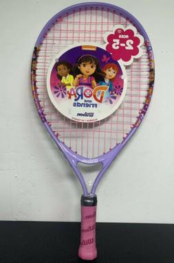 "WILSON 19"" Inch Youth Tennis Racket Dora 2-5 yrs Racquet 3"
