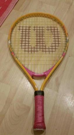 "WILSON 19"" Inch Youth Tennis Racket Dora Boots 2-5 yrs Rac"