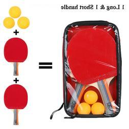 table tennis racket set ping pong paddle