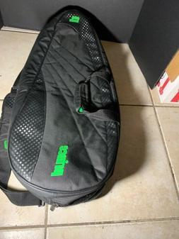 2 compartment tennis bag 6 9 rackets