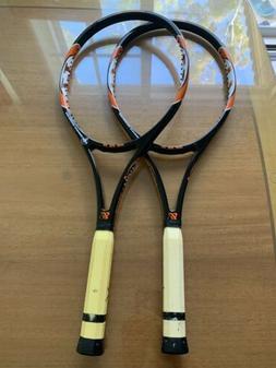 """2 New Gamma T-7 Tennis Rackets Racquets T Seven 4-1/2"""" L4"""