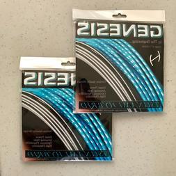 2 SETS TSUNAMI HYBRID 1.23 17g  - Tennis Racket String, Germ