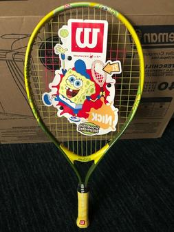"WILSON 21"" SPONGEBOB SQUAREPANTS KIDS-JUNIOR TENNIS RACKET/R"