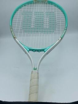 "Wilson 21"" Tennis Racquet Venus and Serena Racket Mint Green"