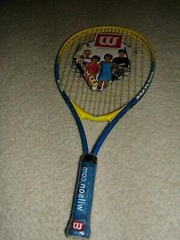 "Wilson 23"" Titanium Youth Boy's Girl's Tennis Racket  NEW 6-"
