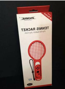 DOBE 2pack Tennis Racket Joy-Con Grip for Nintendo