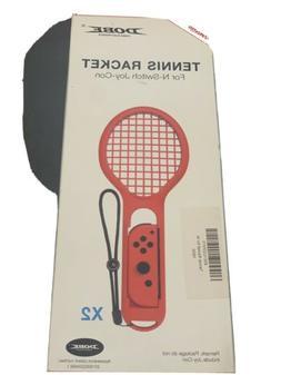 DOBE 2pack Tennis Racket Joy-Con Grip for Nintendo Switch Ma