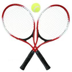 2Pcs Kids Tennis Racket String Tennis Racquets with 1 Tennis