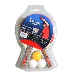 2Pcs Long / Short Handles Table Tennis Racket Ping Pong Padd