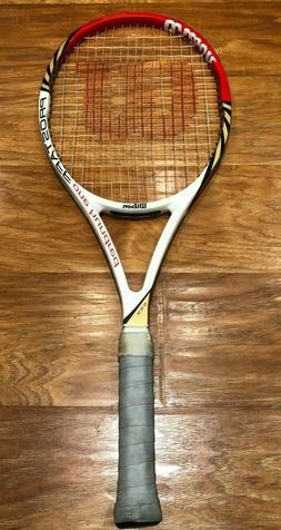 $300 Wilson Pro Staff Lite BLX Midplus 100L Tennis Racket 4