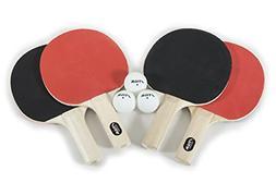 4 Player Stiga Classic Racket Set Table Tennis Ping Pong Pad