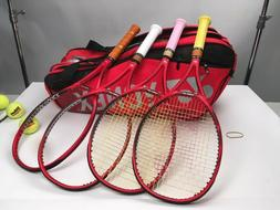 - Yonex VCore 95 Tennis rackets 4 1/4, and racquet bag. C