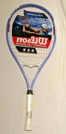 Wilson Adult Tennis Racquet Triumph XL Head Air Lite Alloy L