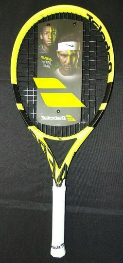 aero 112 strung tennis racket 180535 yellow