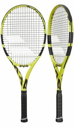 aero g strung tennis racket 102390 yellow