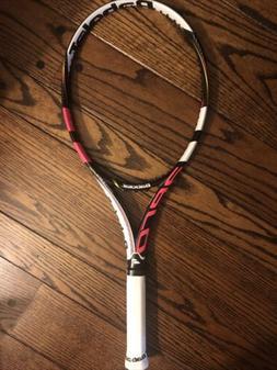 aeropro lite pink tennis racket 4 3