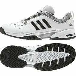 Adidas Barricade Classic Tennis Racquet White Black Shoes 10