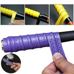 Baseball Badminton Softball Racket Rubber Handle Grip Wrap B