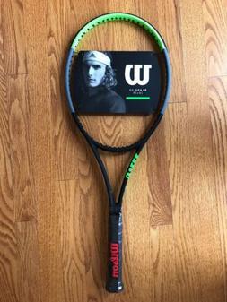 "Wilson Blade 98 v7 16x19 Tennis Racket Grip Size 4 3/8"""