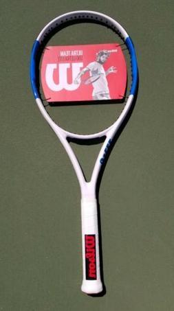 Blue & White Wilson Ultra Lite Team 100 Ultralight UL Tennis