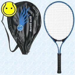 Blue Streak Junior Tennis Racquet - Strung with Cover