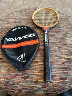 Donnay Borg All Wood Tennis Racket
