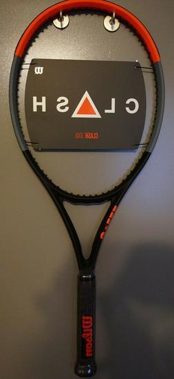 BRAND New Wilson CLASH 100L Tennis Racquet 4 3/8 Racket 16x1