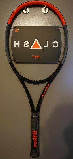 BRAND New Wilson CLASH 98 Tennis Racquet 4 1/2 Racket 16x19