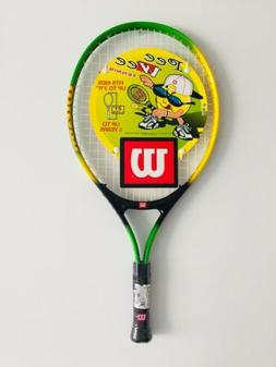 "BRAND NEW WILSON Pee Wee 21"" Tennis Racket 3 5/8"" Grip FRE"