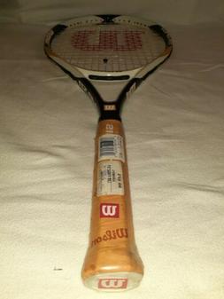 Brand New Wilson Us Open Pre Strung Tennis Racket NWT Grip 4