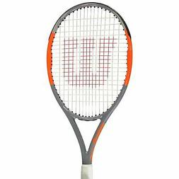 Wilson Burn Team 100 Lite Tennis Racket Adult Black/Orange S