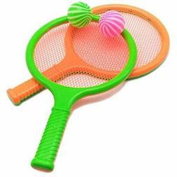 Children Kids Play Game Plastic Tennis Racket Sports Toy 2 R