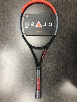 Wilson Clash 100 Unstrung 4 3/8 Grip Tennis Racquet. WR00561
