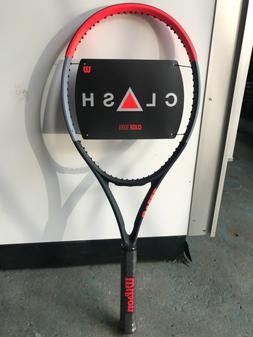 """Wilson Clash 100UL tennis racquet, unstrung, grip 4 3/8"""""""