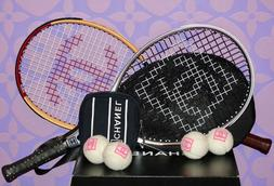 CHANEL Collector 2)Tennis Rackets Mesh COCO Carry Case PLUS