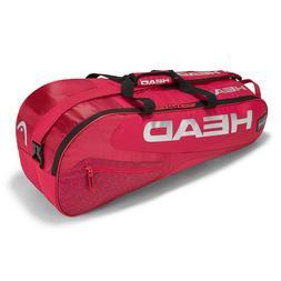HEAD Elite 6 Racquet Combi Tennis racket racket bag - Red -
