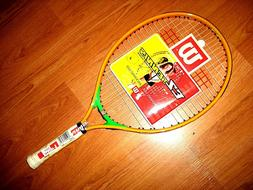 "Wilson EZ Tennis Junior Tennis Racket - 21"" - Z2583 - Brand"