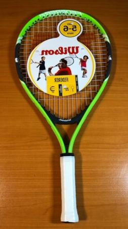 "Wilson Federer 21 Junior Tennis Racket 3.5"" Grip Youth ages"