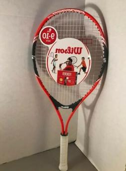 "WILSON Federer 25"" Tennis Racket 3 7/8"" Grip Youth Kids Ages"