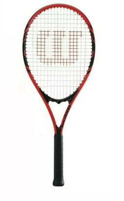 Wilson Federer Adult Tennis Racket Red & Black