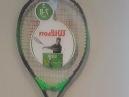 "Wilson FEDERER Kids Ages 7-8  junior tennis racket 3 5/8"" gr"