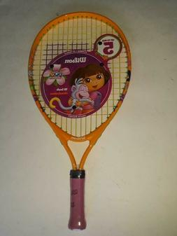 Junior tennis racquet Wilson19 inch Dora the Explorer, 3 1/2