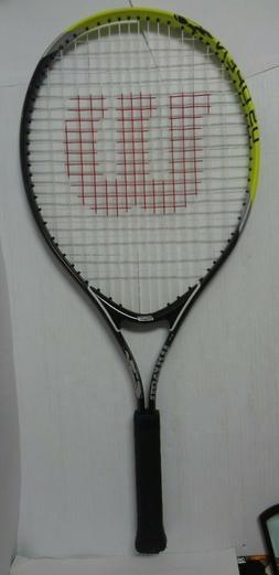 """Wilson Junior US Open Tennis Racquet Racket 25"""" Titanium Ten"""