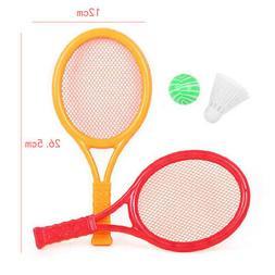 kids gift badminton tennis racket set parent
