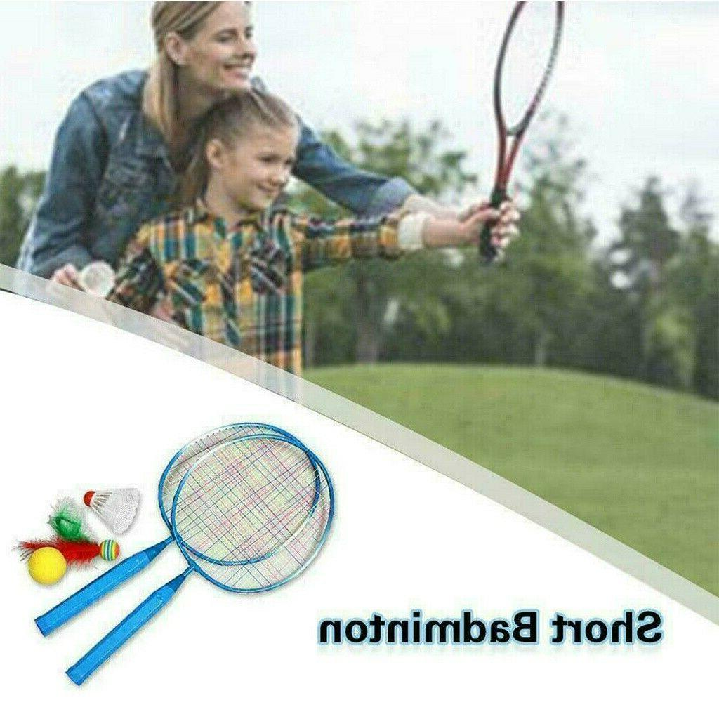 1 Sport Badminton Rackets Toys For Kid Boys Girls