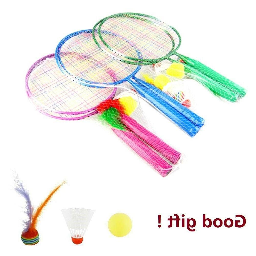 1 pair sport badminton rackets sports cartoon
