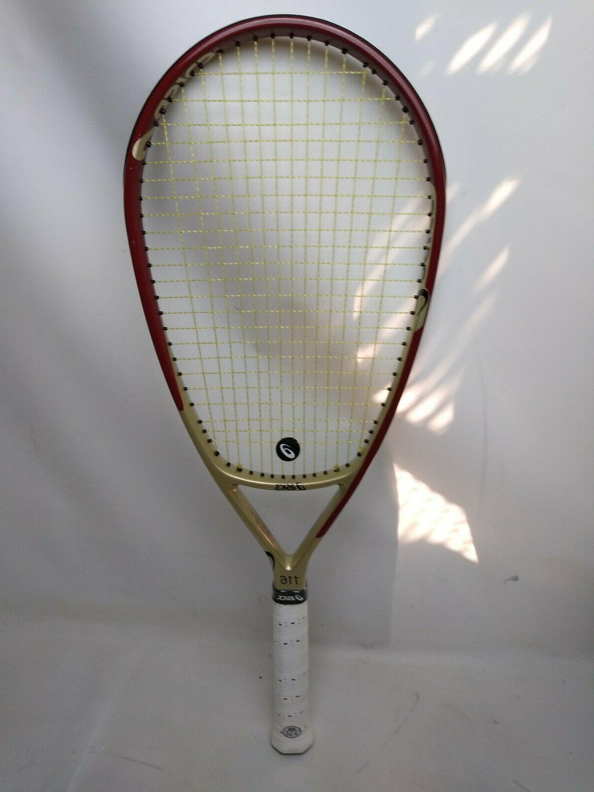 116 tennis racquet l4 new grip size