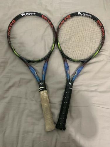 2x pair asics bz100 bend zone tennis
